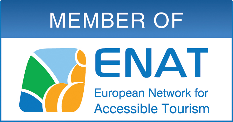 European Network for Accessible Tourism Logo