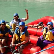 Rafting in the Ganga in Rishikesh