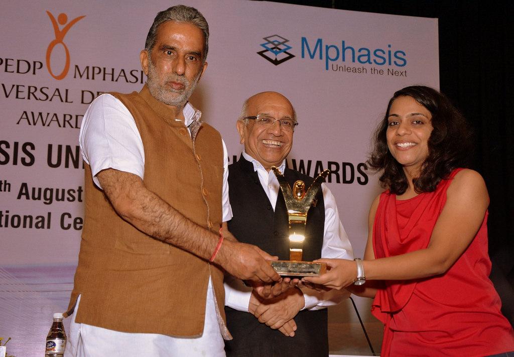 NCPEDP Mphasis Universal Design Award Neha Arora
