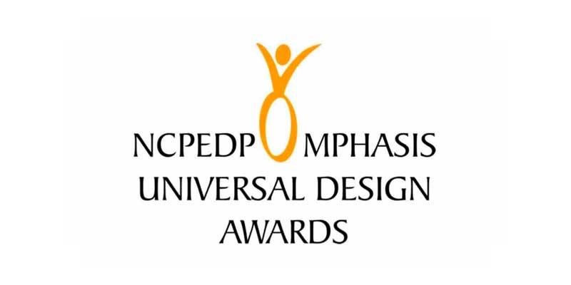 NCPEDP Mphasis Universal Design Awards Logo