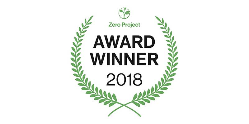 Zero Project Award Winner 2018 Logo